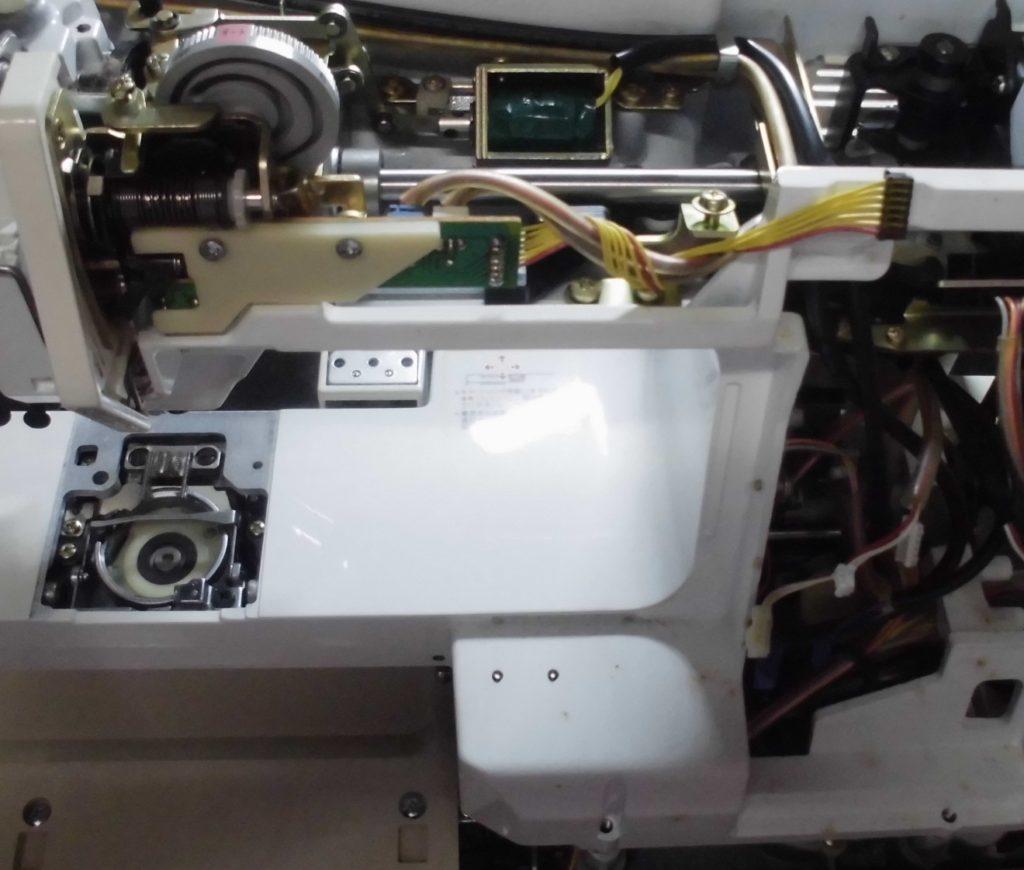JANOMEグラフィカ8000の分解オーバーホールメンテナンス修理