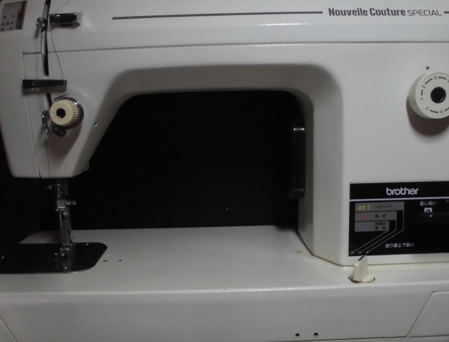 ブラザー職業用ミシン修理|ヌーベルクチュールスペシャル|糸調子が合わない