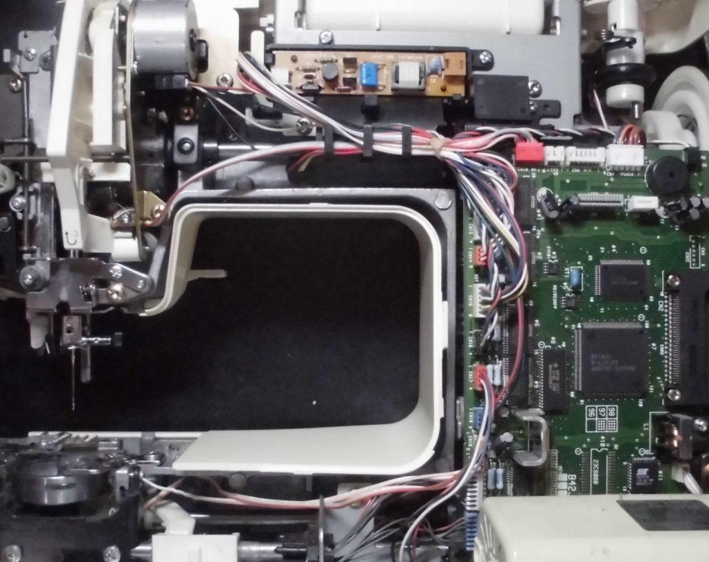 ZZ3-B982の分解メンテナンス オーバーホール ブラザーミシン修理 PICNO