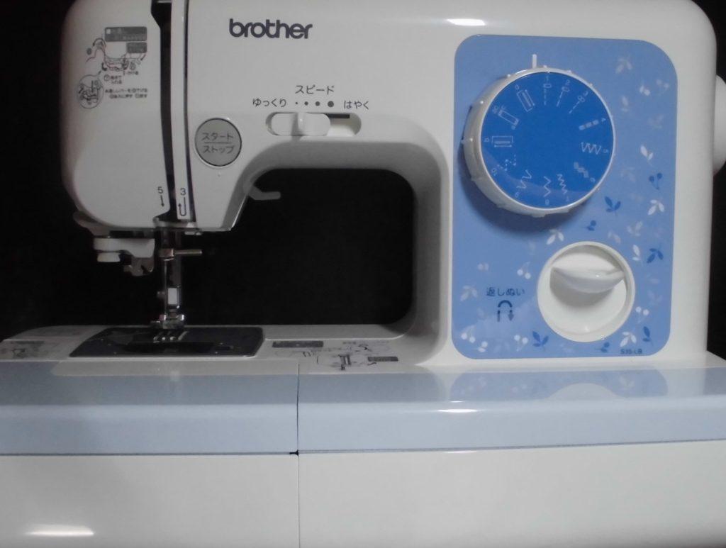 ブラザーELU52のミシン修理|縫えない|S35-LB
