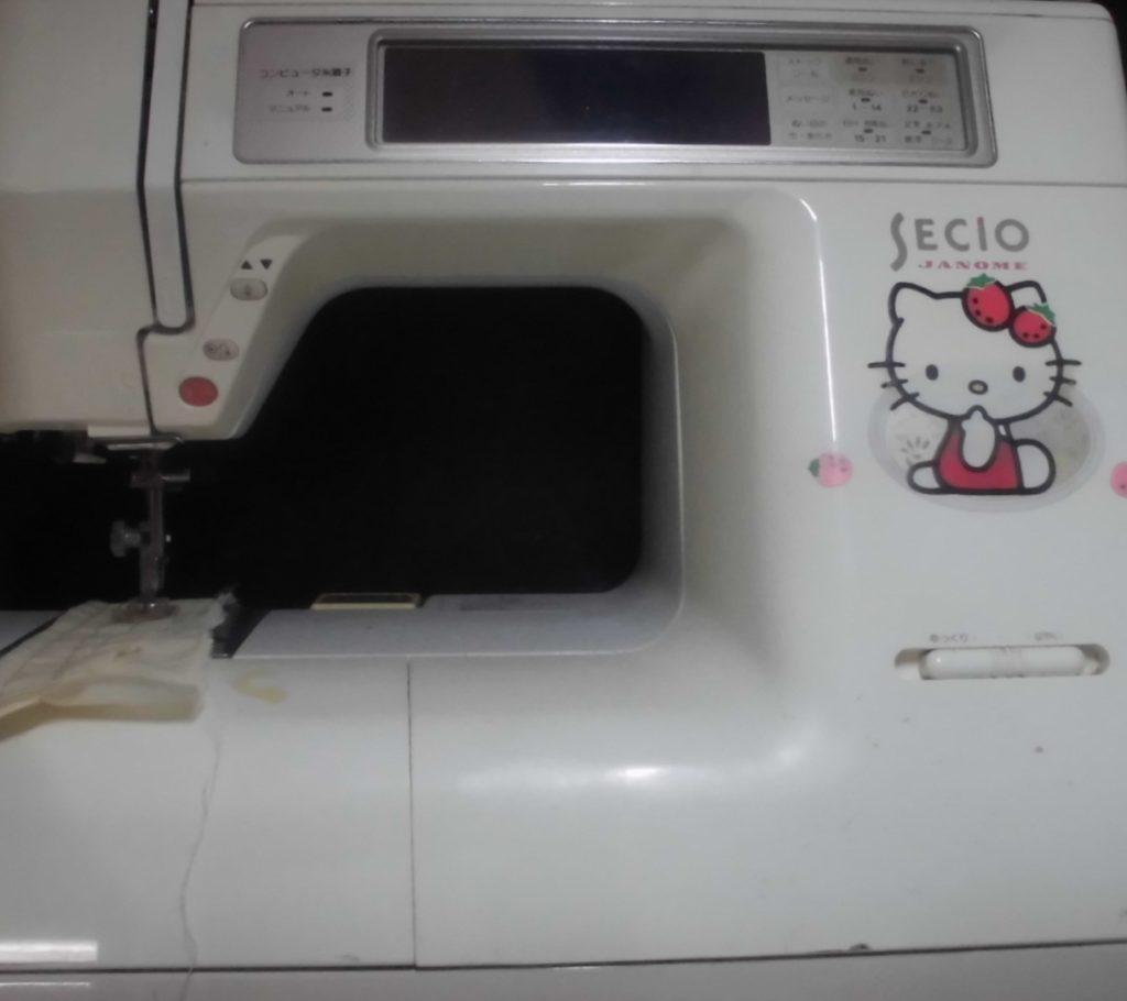 セシオ8200|ジャノメミシン修理|液晶バックライト交換&オーバーホール