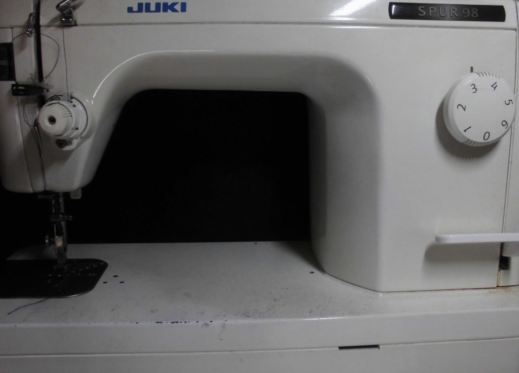 SPUR98ミシン修理|JUKI職業用ミシン|TL-98|フットコントローラー|動かない