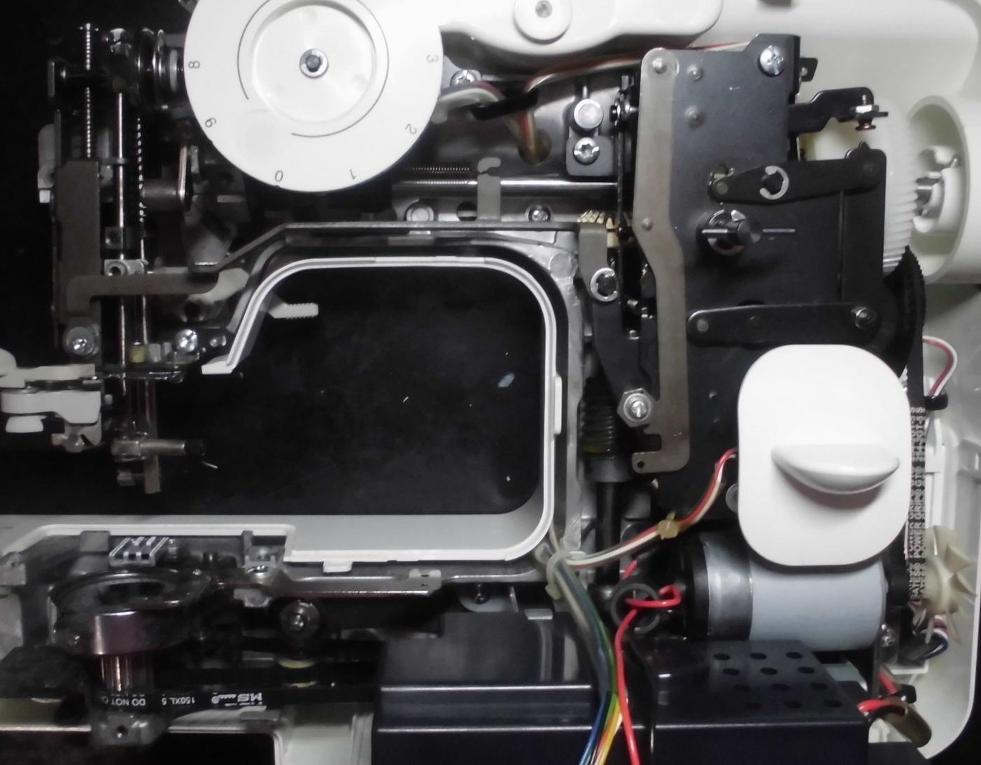 ELU52・A35-LGの分解オーバーホールメンテナンス修理|ブラザーミシン