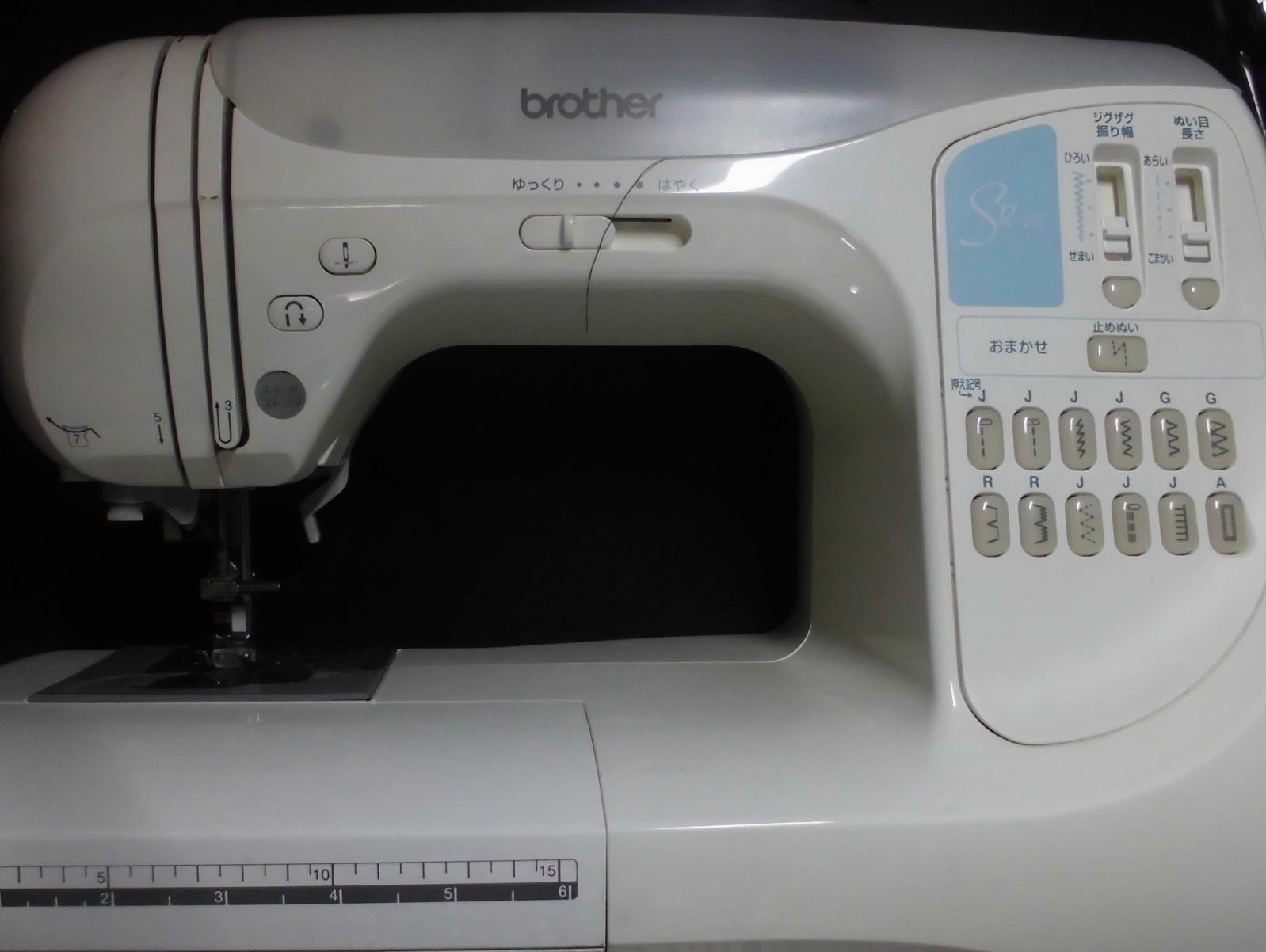 brotherミシン修理|CPS50|SR-28|動かない・縫えない