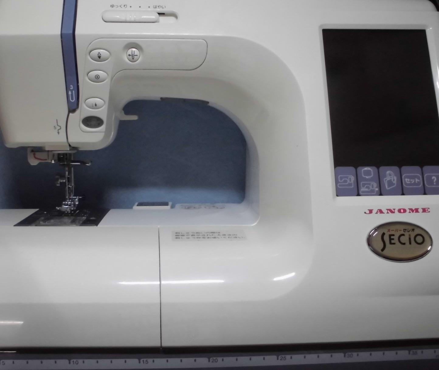 ジャノメミシン修理|スーパーセシオ9500|850型|ミシンが動かない|電源を入れ直してください
