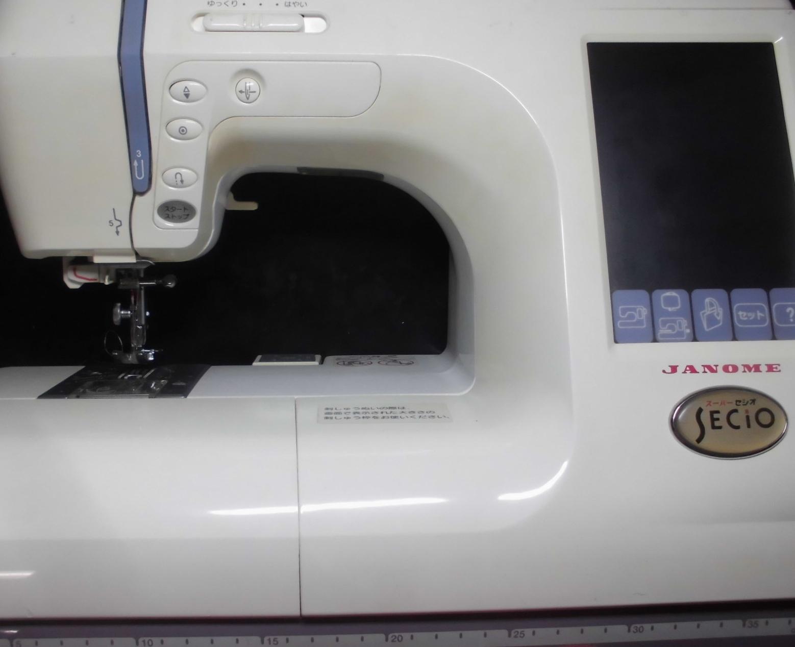 ジャノメミシン修理|スーパーセシオ|ジャノメ850型|布を送らず縫えない