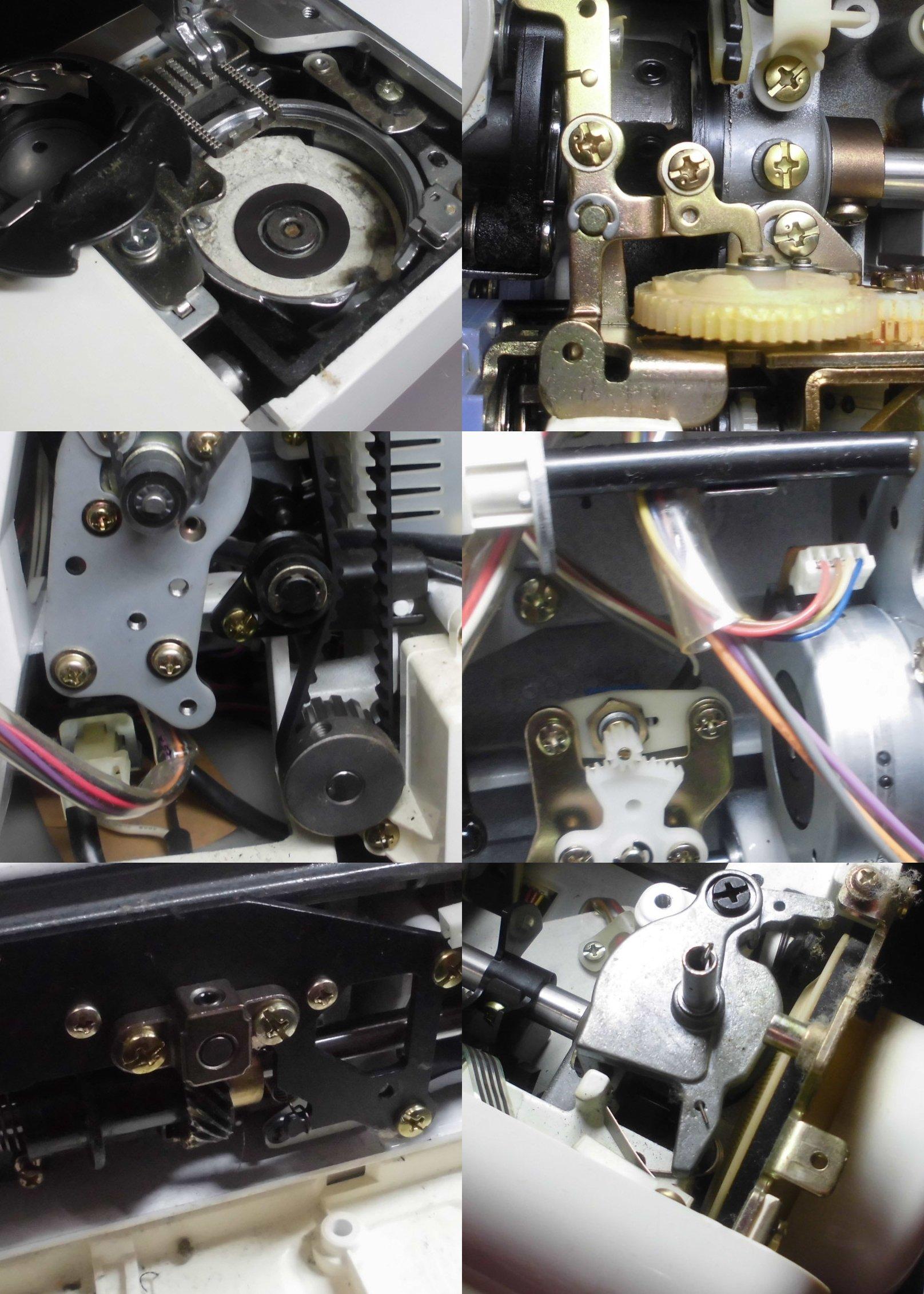 スーパーセシオ|オーバーホール・メンテナンス|ジャノメミシン修理