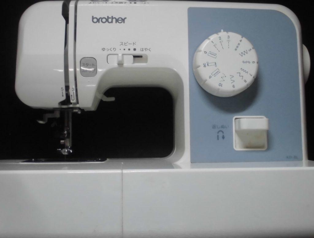 ブラザーミシン修理|EL117|A31-BL|針が布に入らなくなり縫えない