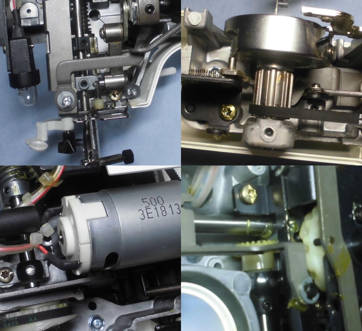 A31-BLの故障や不具合|針が入らない、針が布を貫通しない、縫えない