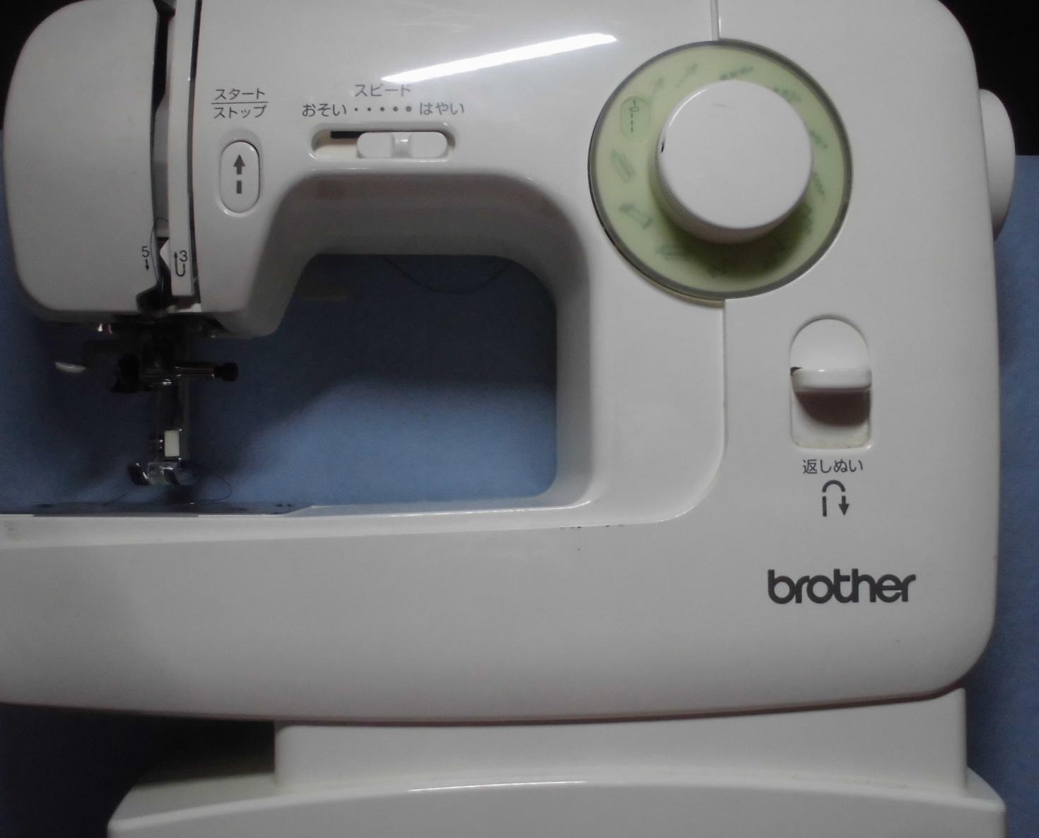 brotherミシン修理|EL135シリーズ|下糸をひろわない、縫えない