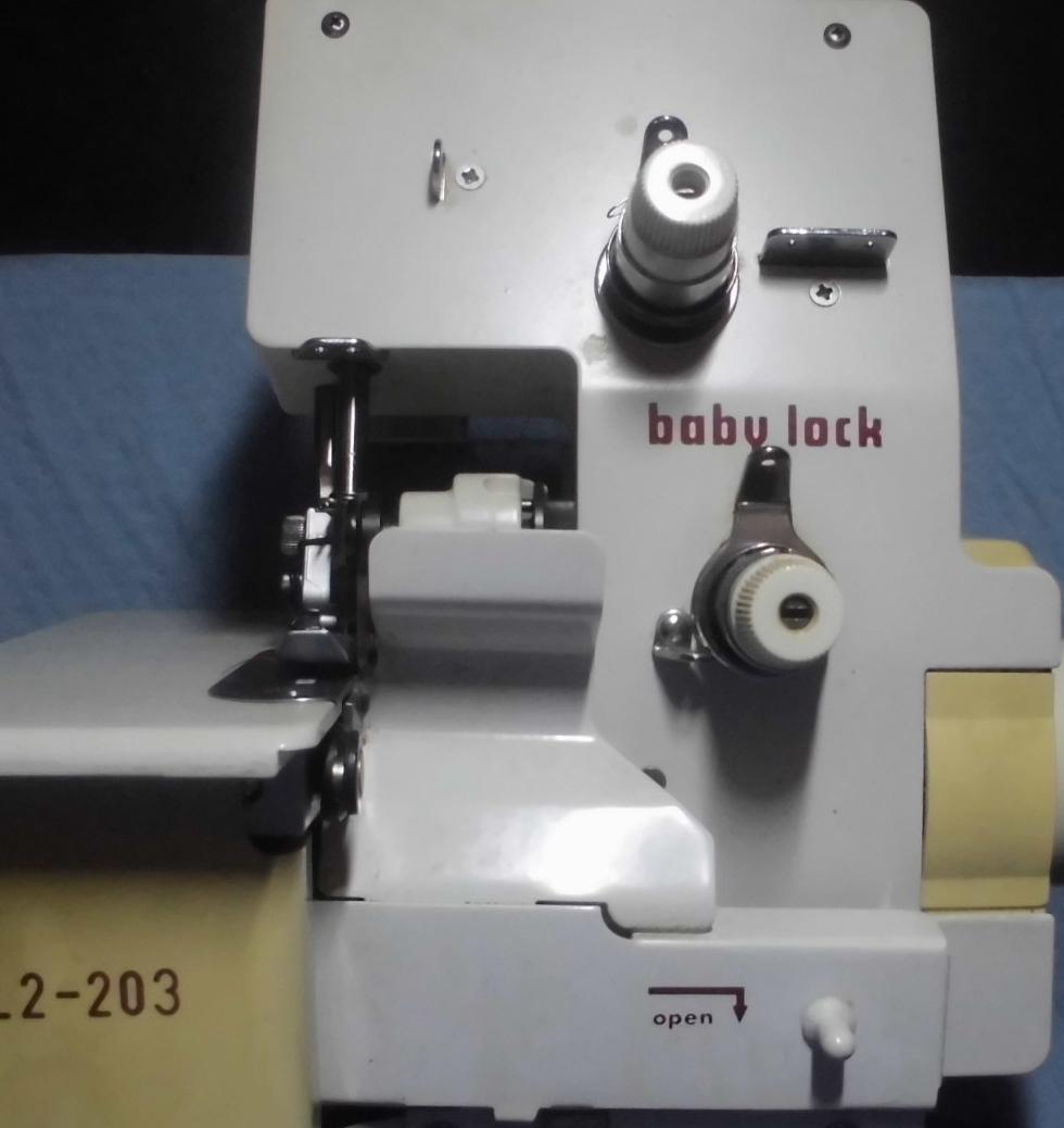babylockミシン修理|BL2-203|はずみ車が重くスムーズに回らない、ミシンが止まってしまう