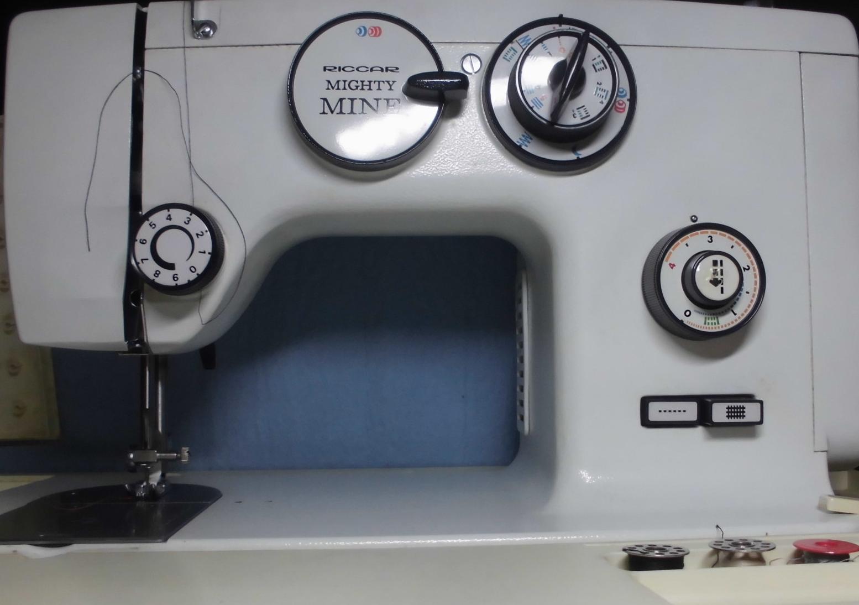 リッカーミシン修理|マイティRZ-570|綺麗に縫えない、糸が切れる、糸調子不良