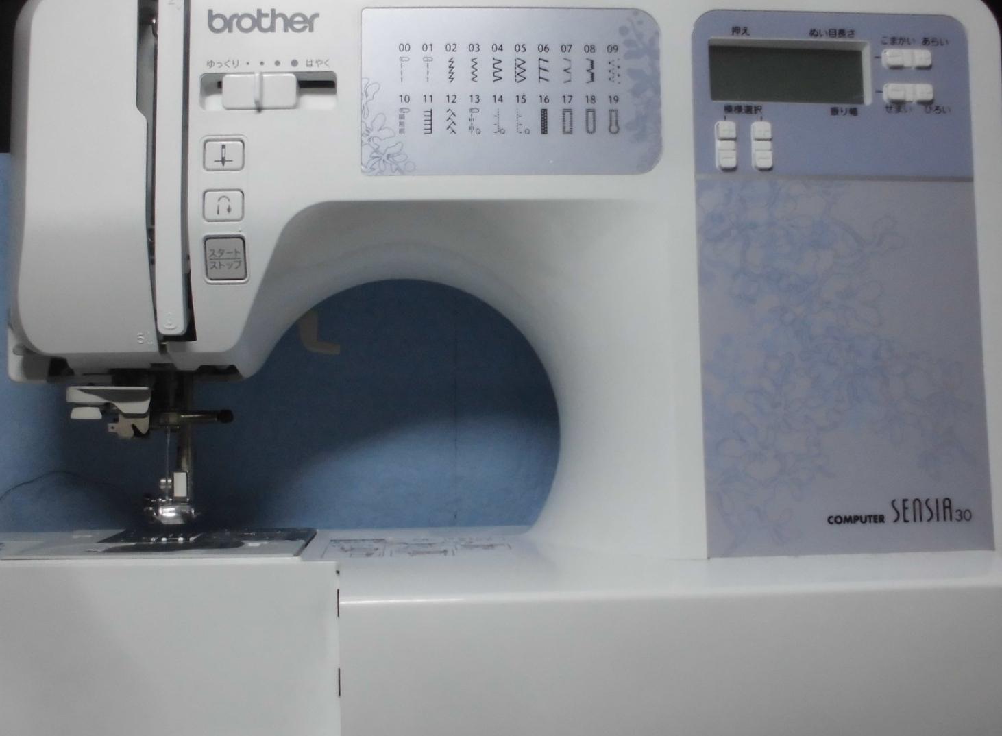 ブラザーミシン修理|CPV75・SENSIA30|糸調子不良、自動糸通しが使えない、綺麗に縫えない