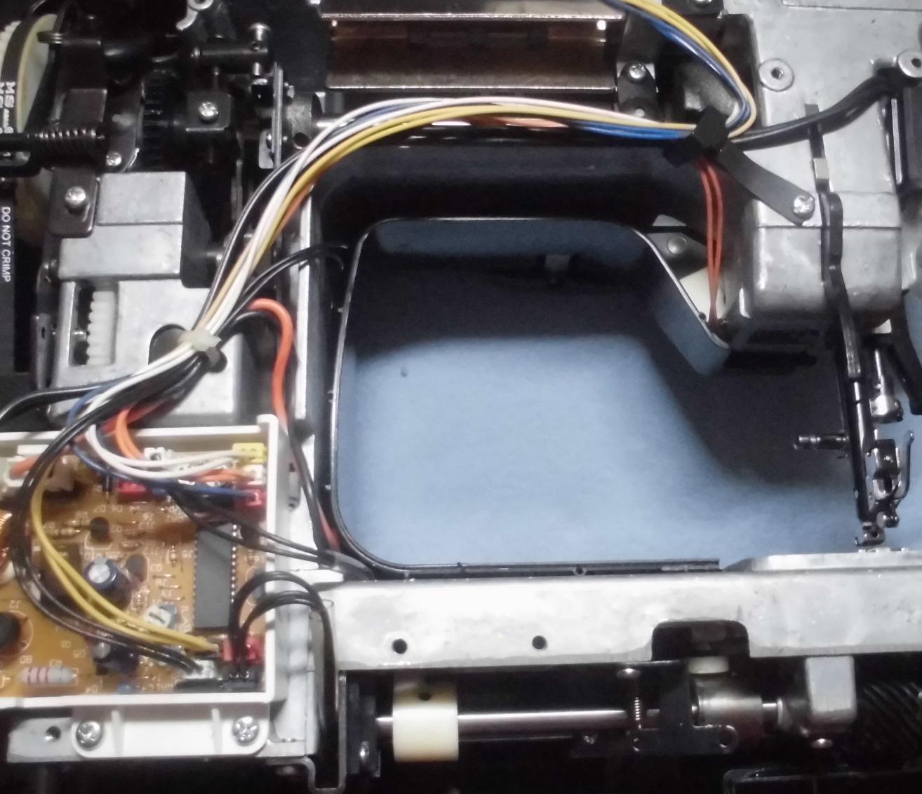 MS-2300DXの分解オーバーホールメンテナンス|シンガーミシン