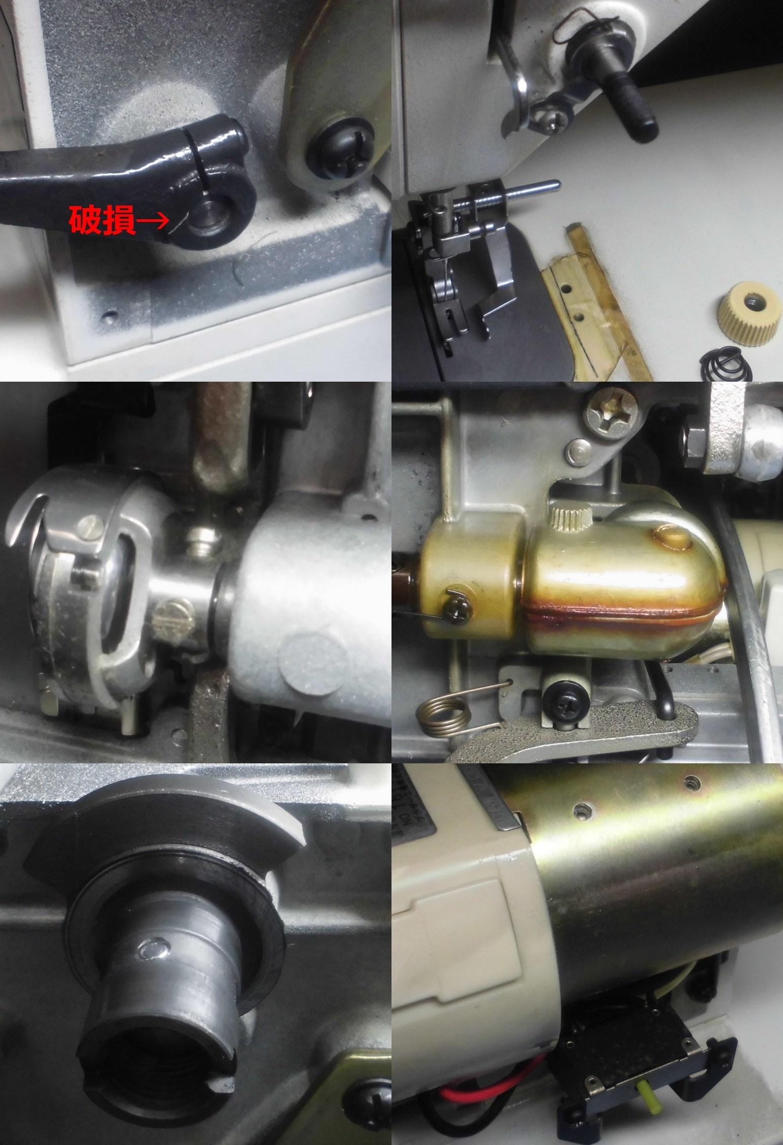 M727の全体メンテナンス|ブラザー職業用ミシン