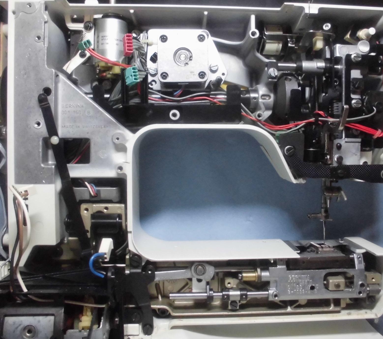 ホリデーヌ1240の分解オーバーホールメンテナンス|リッカーミシン