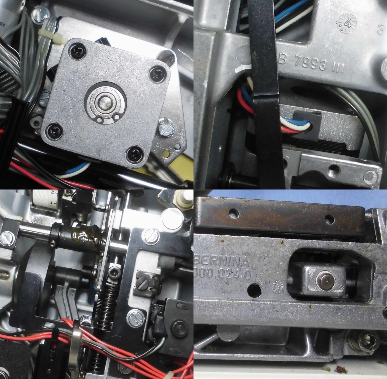 ホリデーヌ1241の修理 ステップモーターの固着、グリス劣化、オイル切れ、ズレ