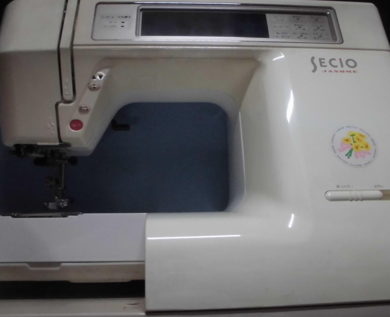 JANOMEミシンの修理|セシオ8100|エラー、異音、液晶タッチパネル不良&バックライト