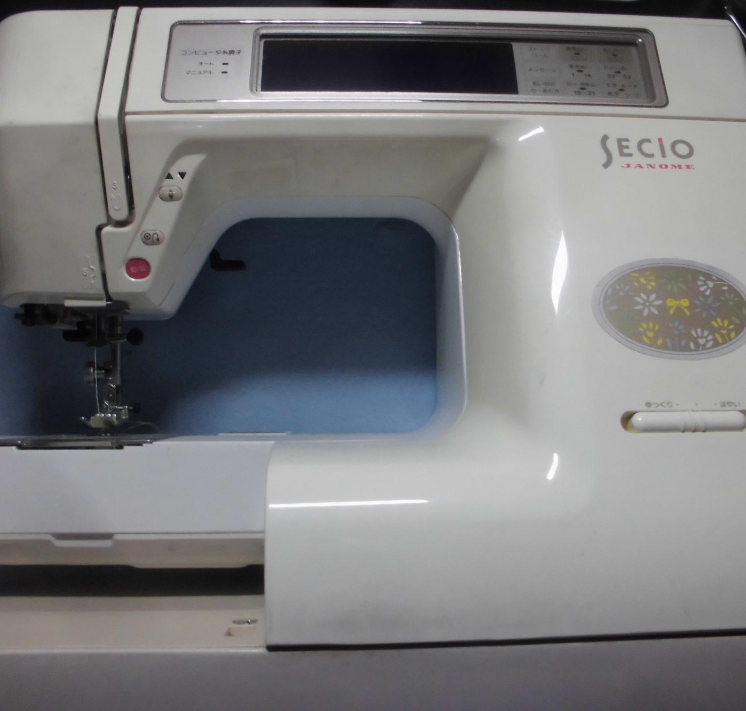 ジャノメミシン修理|セシオ8200|液晶が暗い(バックライト不良)、異音、エラー