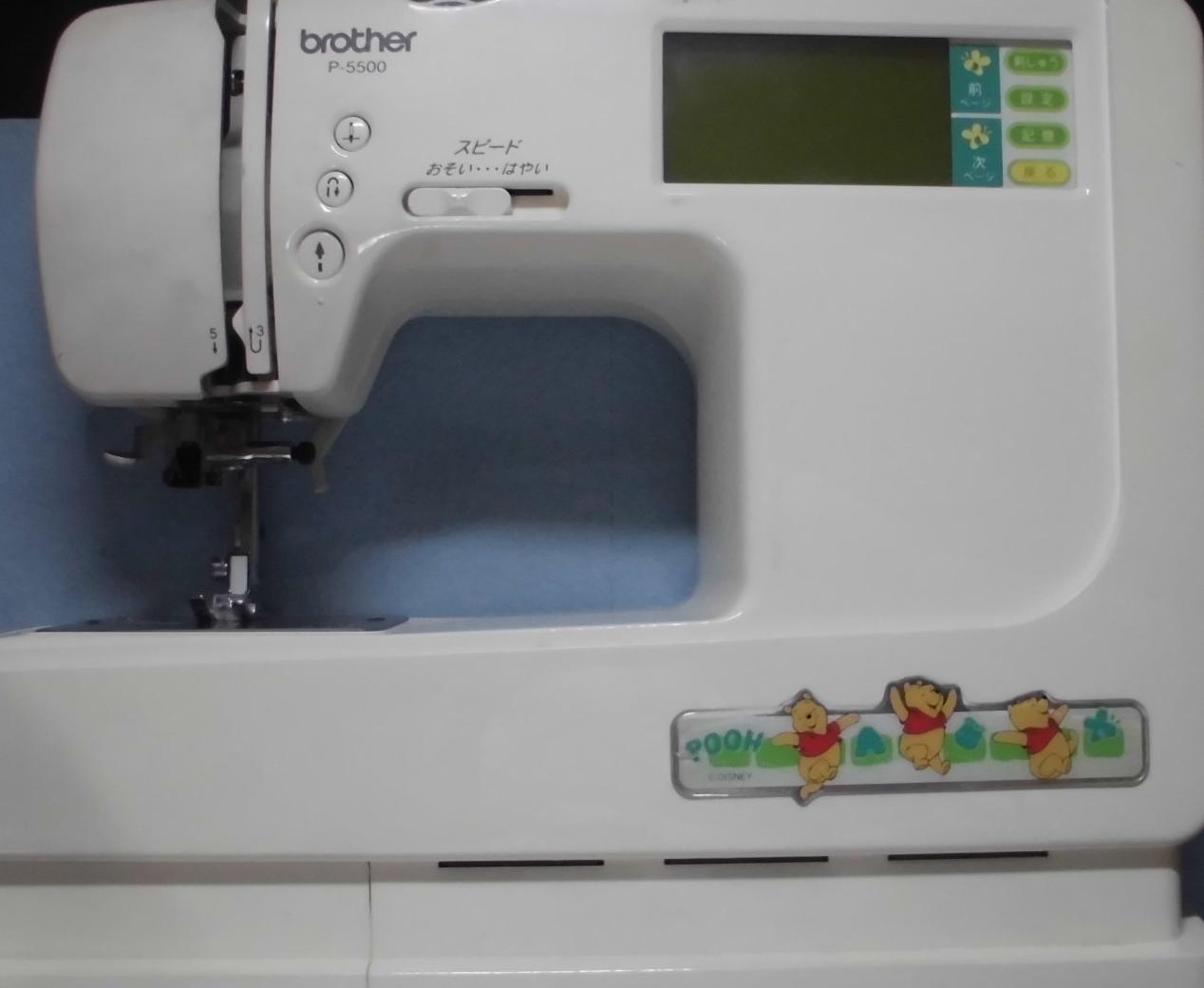 brotherミシンの修理 P-5500 送り歯が動かない、釜が回らない、縫えない、布を送らない