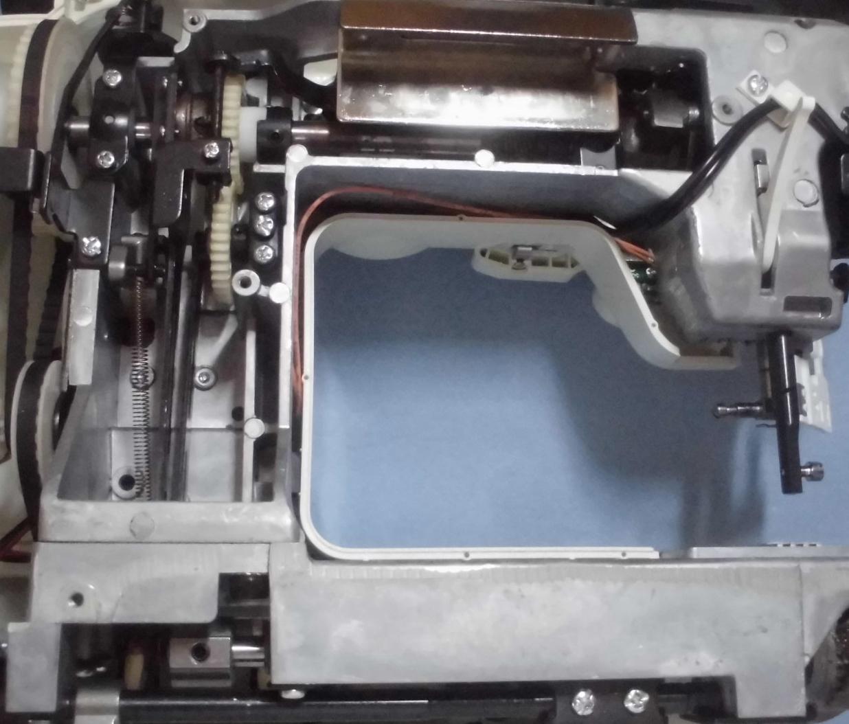 AG-003の分解オーバーホールメンテナンス|アックスヤマザキミシン