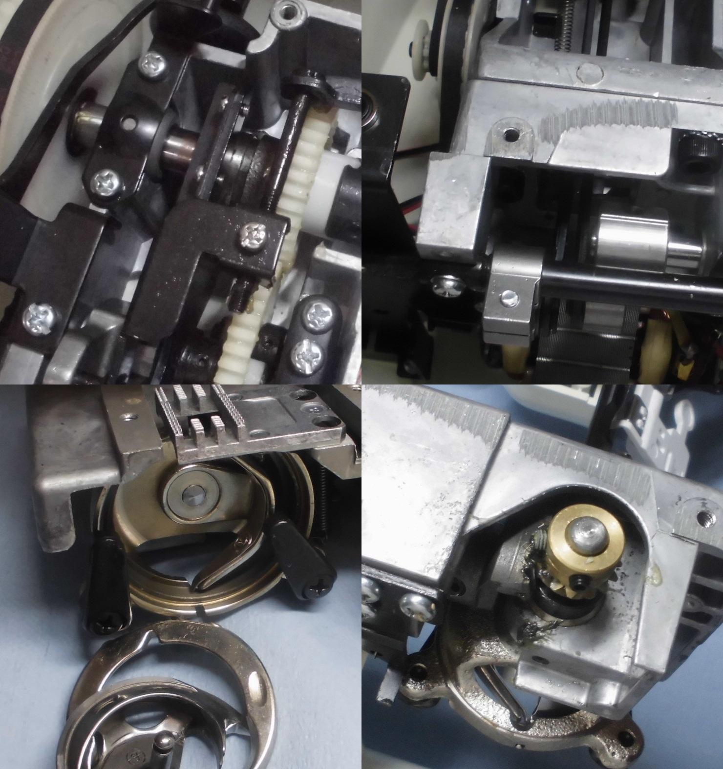 AG-003の故障や不具合|下糸が絡み縫えない、布を送らない、ミシンが止まってしまう