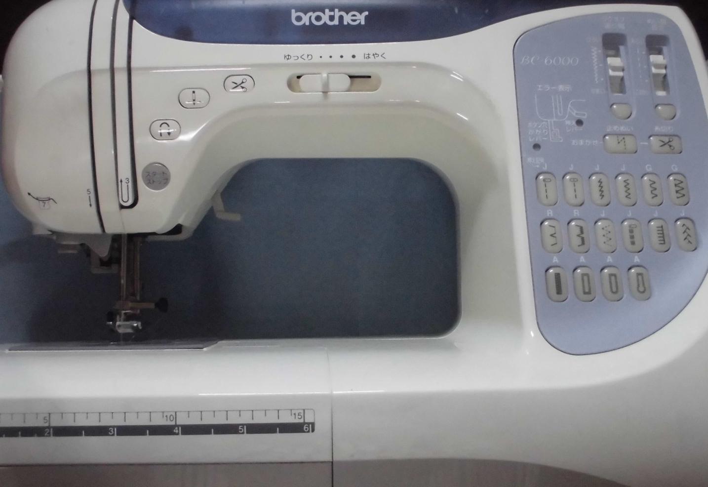 ブラザーミシン修理|BC-6000|CPS52|スタートボタンを押しても動かない、縫えない