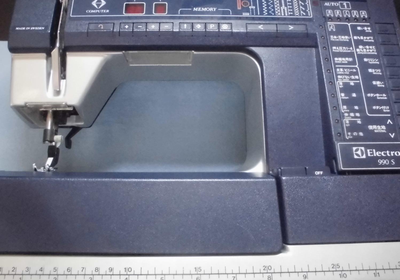 ハスクバーナミシン修理|エレクトロラックス|プリズマ990S|綺麗に縫えない、動作不良