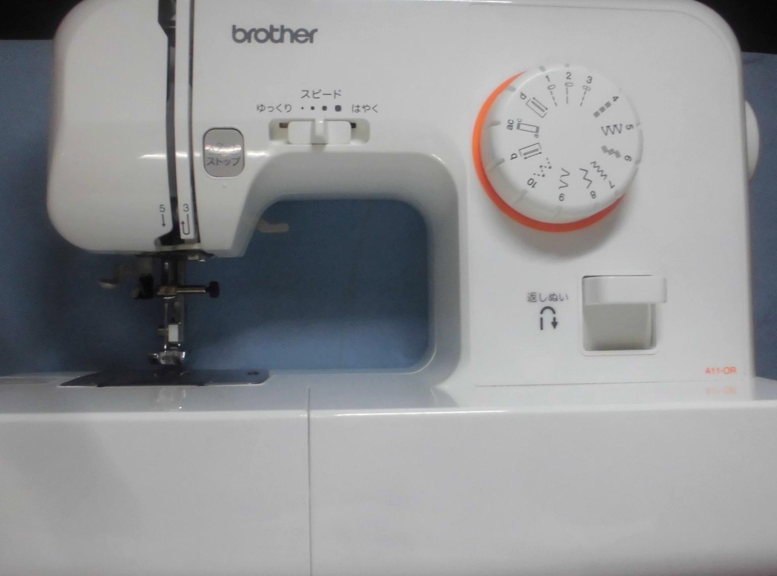 ブラザーミシンの修理|EL115|縫えない、針があたる、針が折れる、針が下りない
