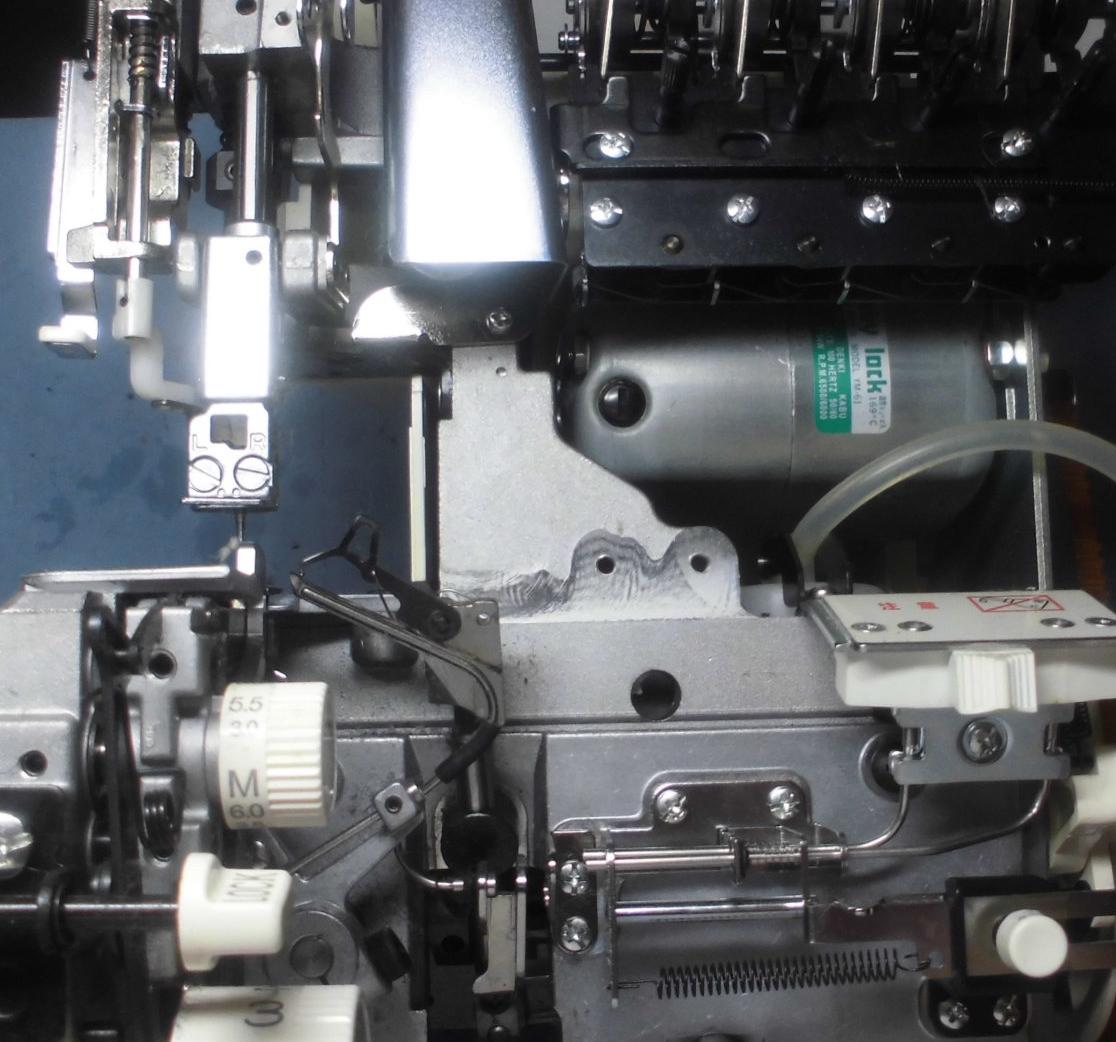 ジューキベビーロックBL55EXの分解オーバーホールメンテナンス|衣縫人の修理