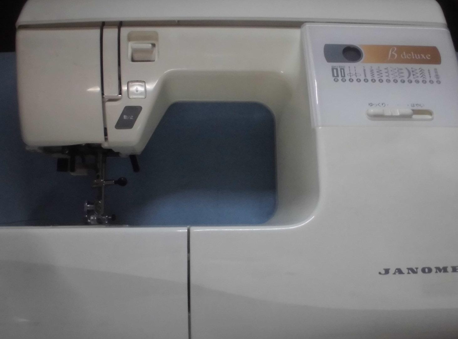ジャノメミシンの修理|model655|βデラックス|針が取り付けられない、縫えない、布を送らない