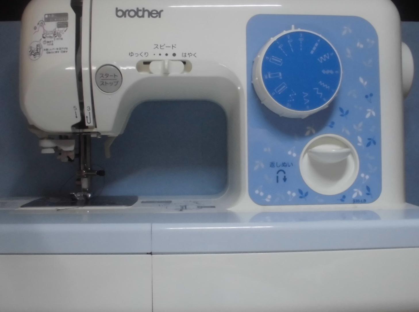 ブラザーミシンの修理|ELU52|S35-LB|針が布に貫通しない、縫えない、動かない