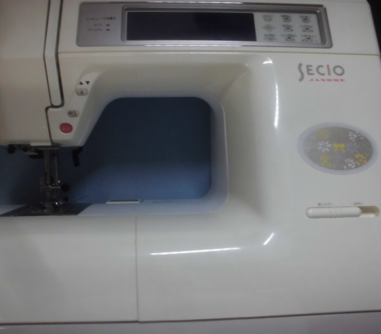 ジャノメミシンの修理|セシオ8200|ステッピングモーターエラーが生じミシンが動かない