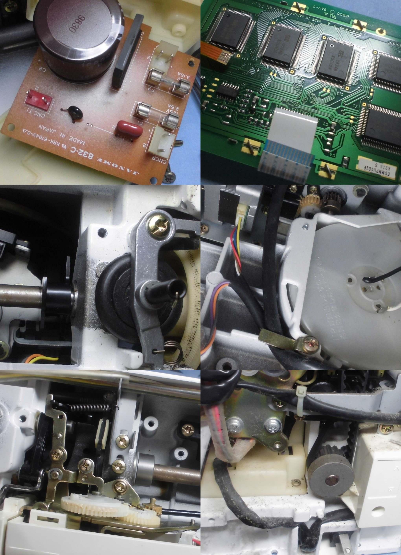 SECIO EX-Ⅲ 9201の故障や不具合|ヒューズが切れる、はずみ車が回らない、異音