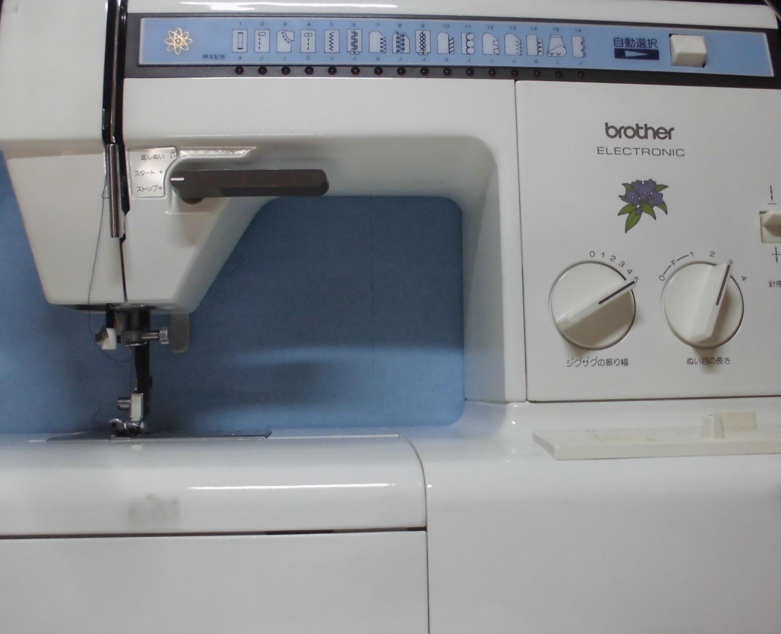 ブラザーミシン修理|ZZ3-B772|糸調子不良、糸が絡む、綺麗に縫えない
