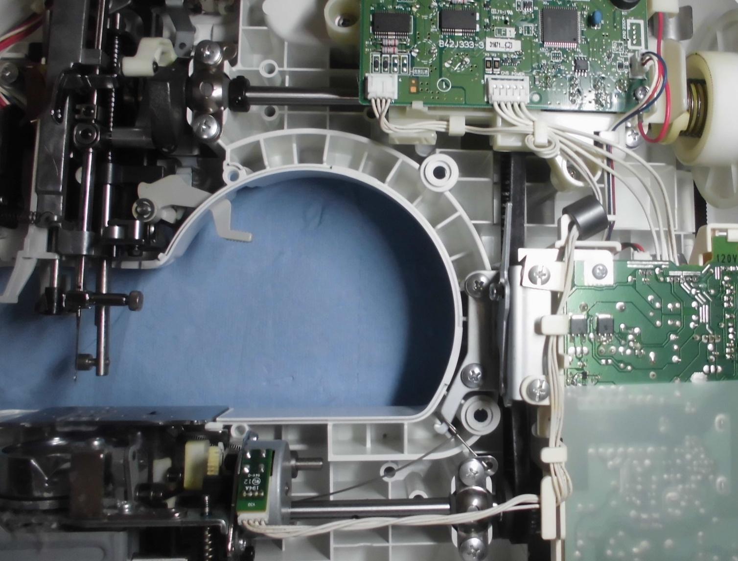ブラザーミシンHS102の分解オーバーホールメンテナンス|CPS40シリーズ