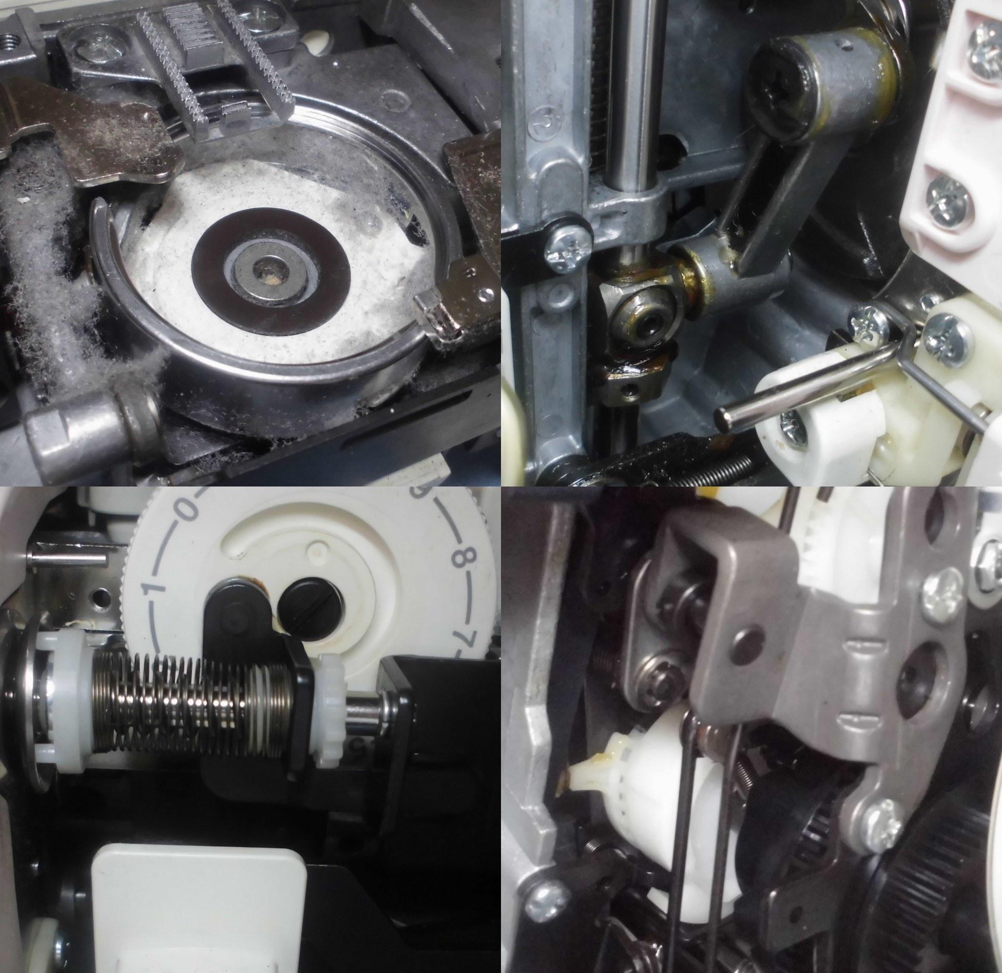 ジャノメミシンJQ-460の故障や不具合|電源が入らない、動かない、縫えない、下糸を拾わない