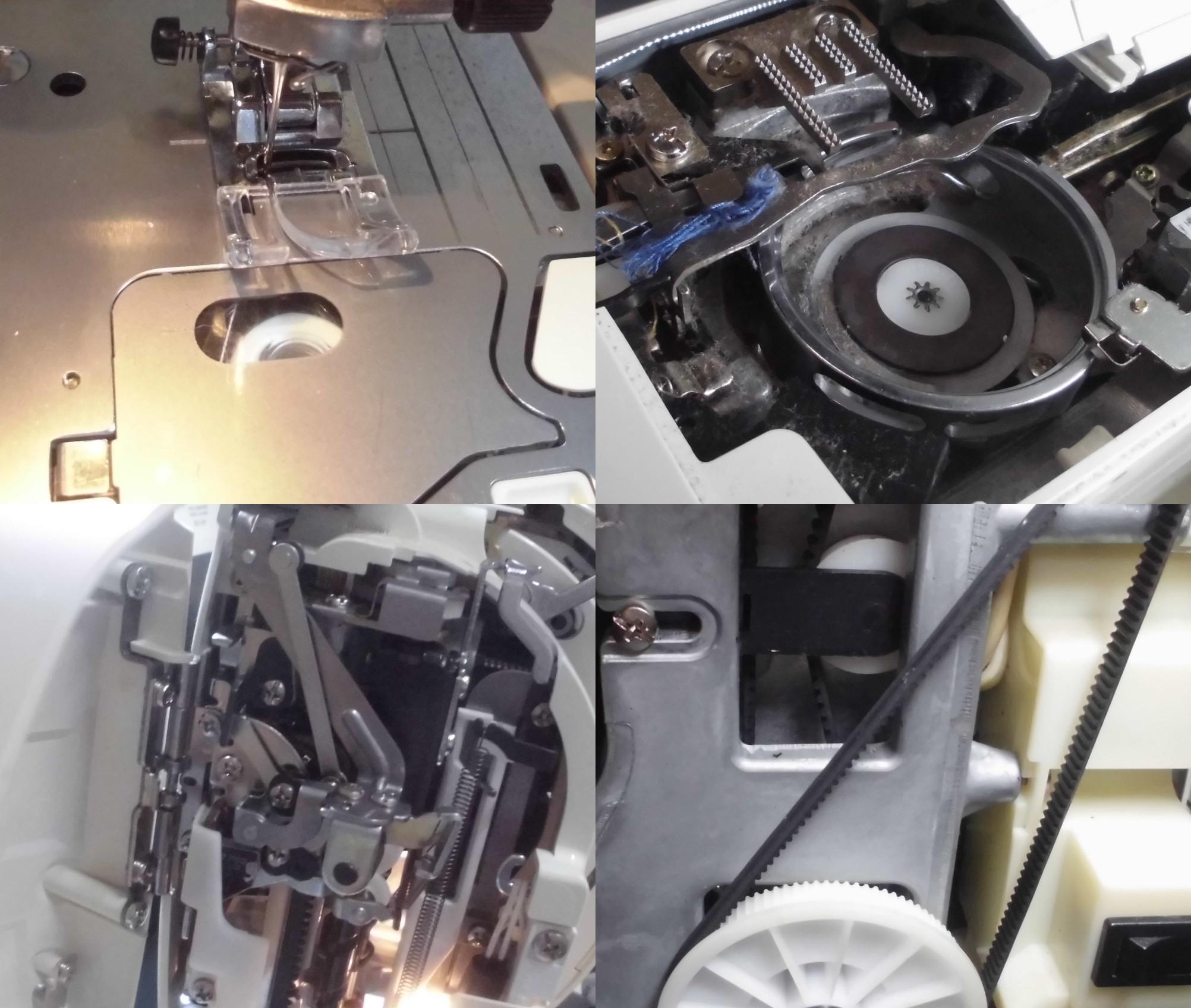 JUREVE HZL-010の全体メンテナンス 清掃、整備、点検、調整