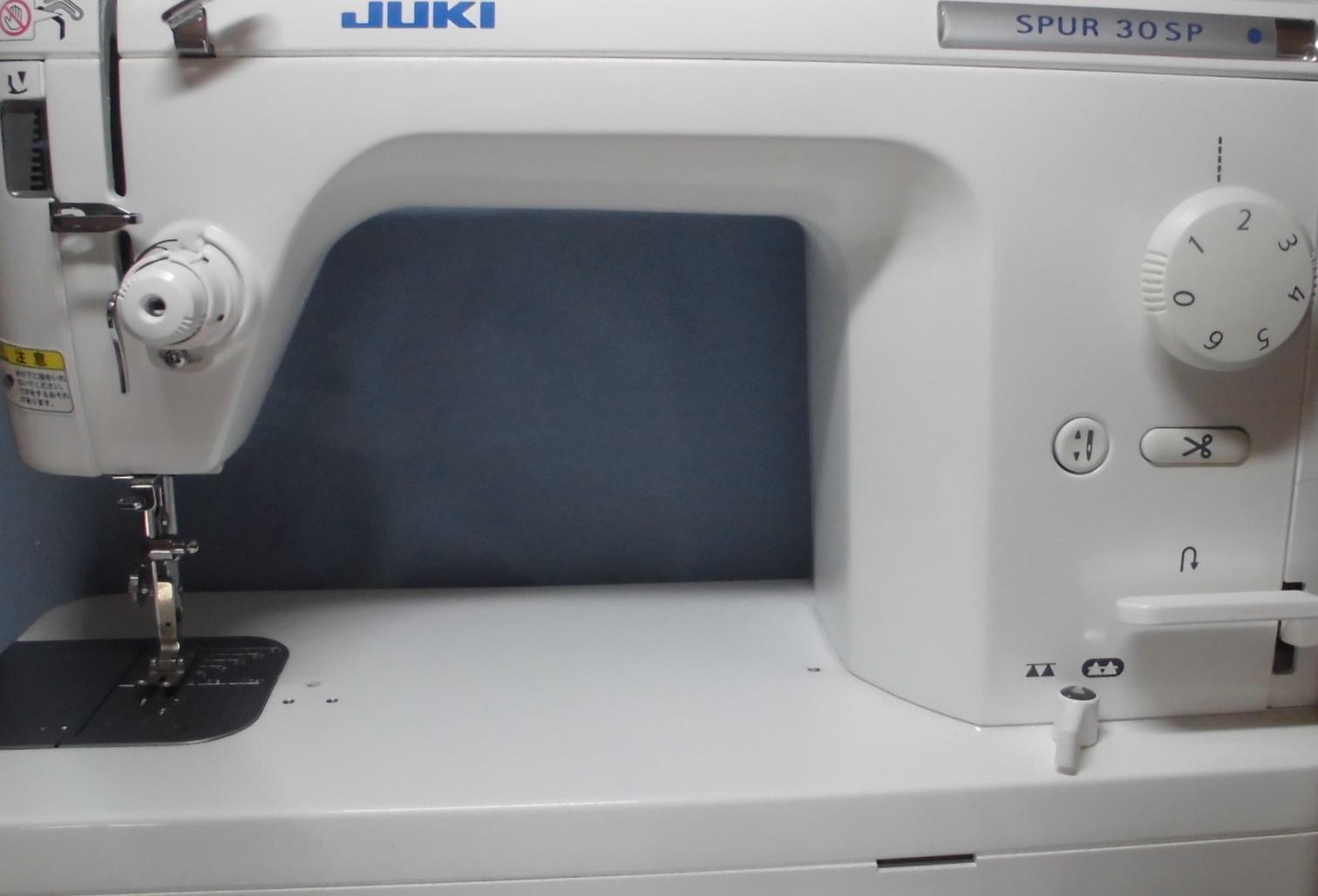 ジューキ職業用ミシン修理|シュプール30SP|正常に縫えない、糸が絡まる、糸が切れる、異音