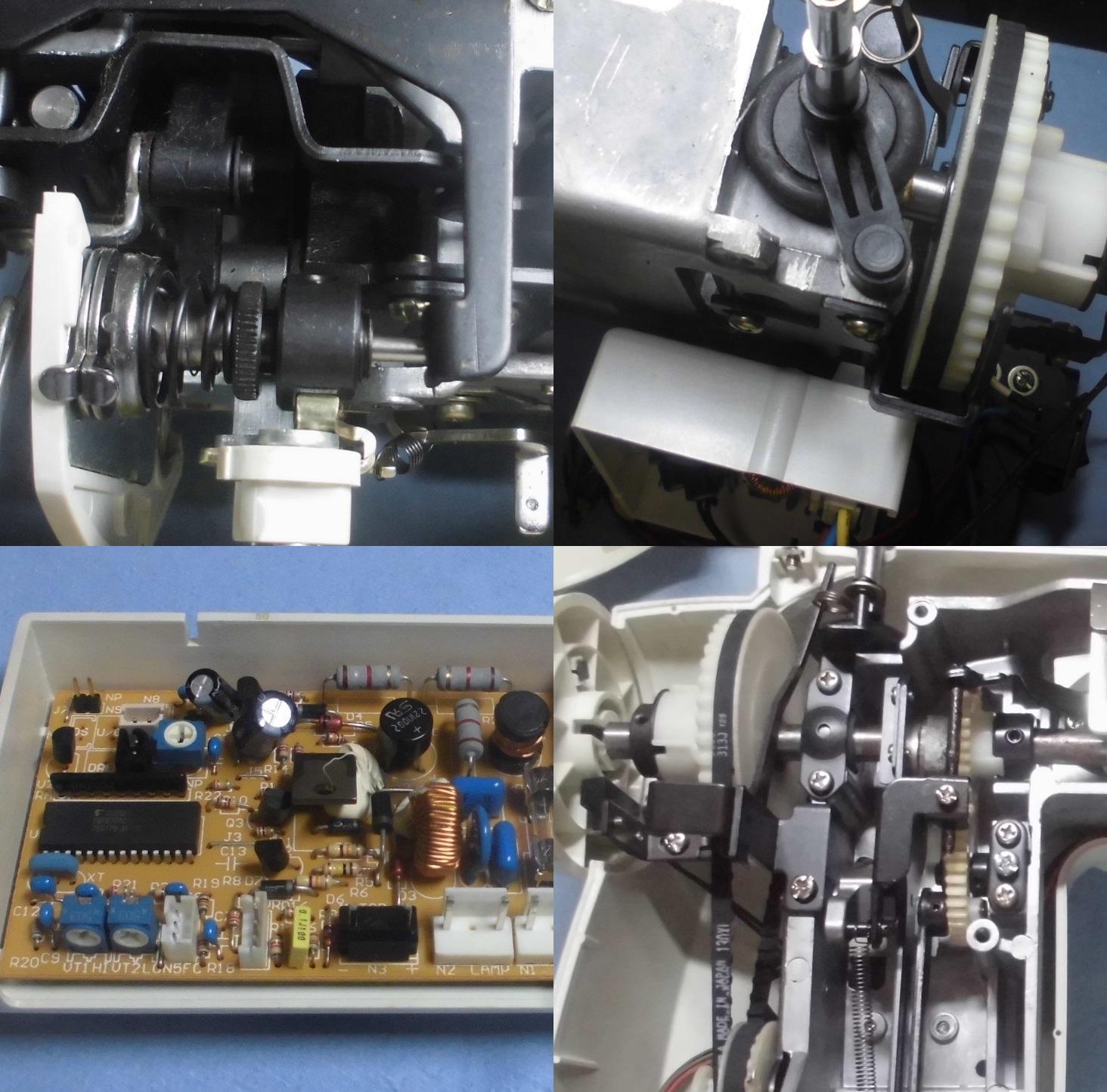 通販生活のミシンAG-002の故障や不具合|動かない、縫えない、異音、固着