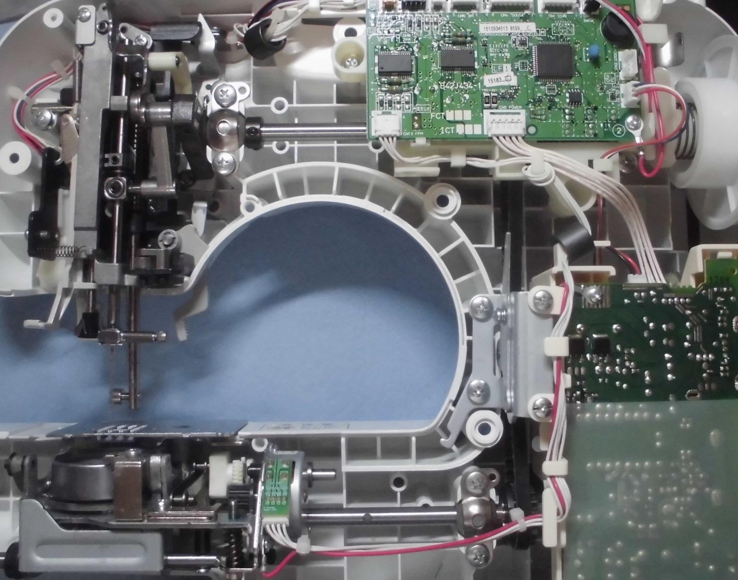 ブラザーミシンCPS4802の分解オーバーホールメンテナンス|ユザワヤ、アニュドールブラン2