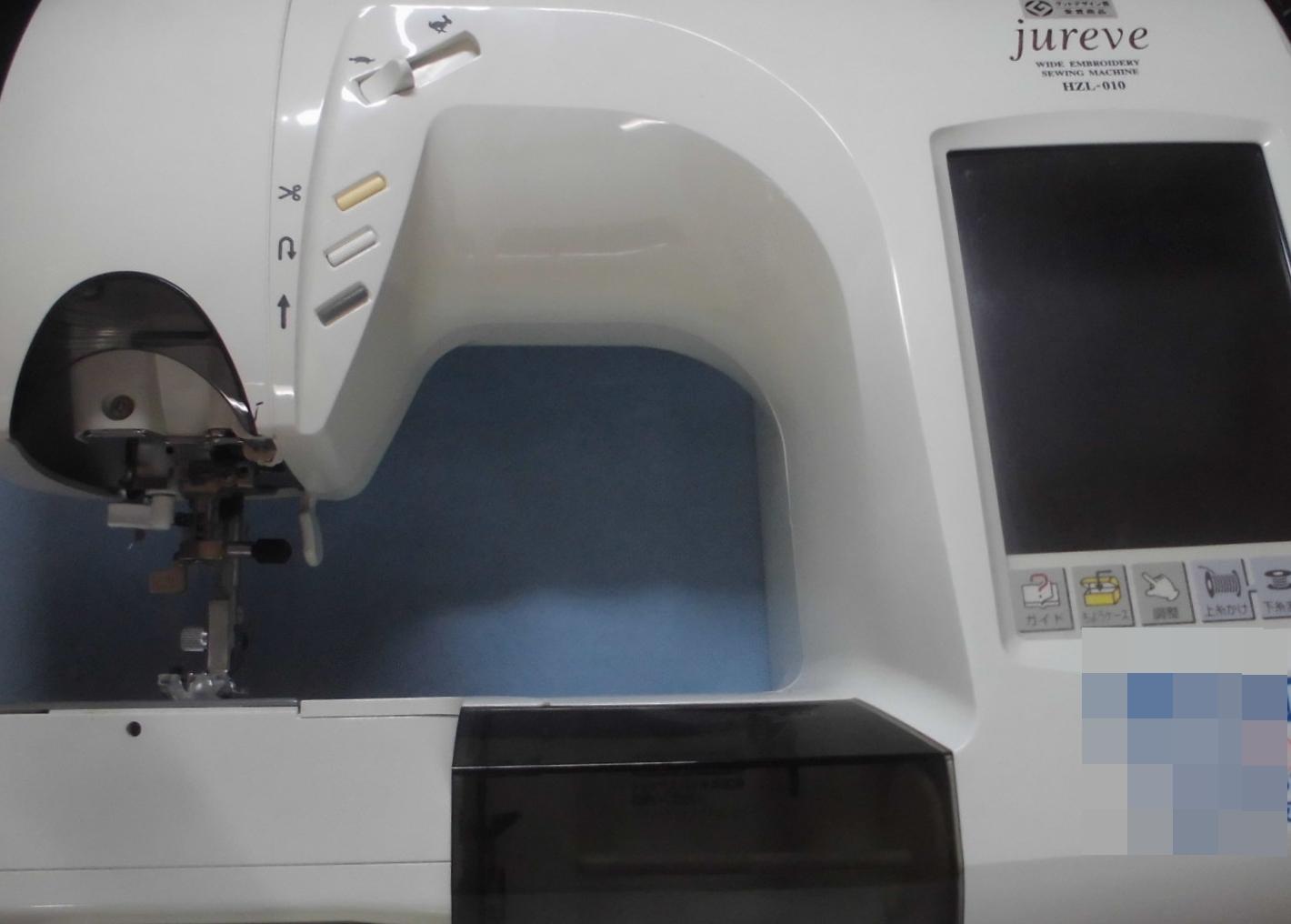 ジューキミシン修理|ジュレーブ|ミシンの速度調節が出来ない(スピードが遅くならない)