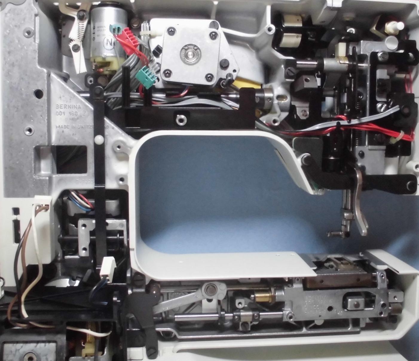 RICCARミシンHolidaynu1240の分解オーバーホールメンテナンス修理