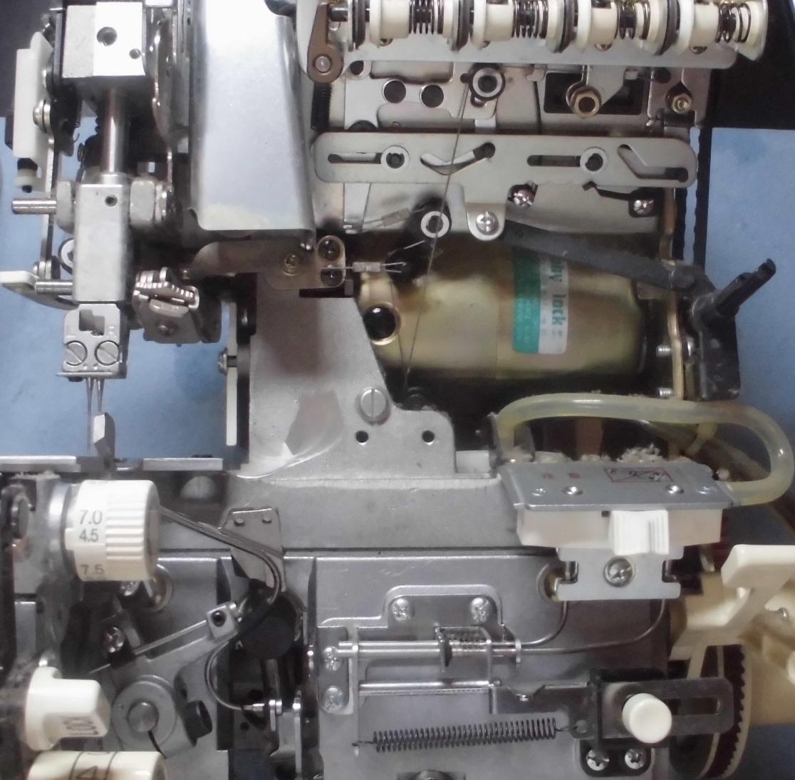 糸取物語BL66の分解オーバーホールメンテナンス|ジューキベビーロックミシン修理