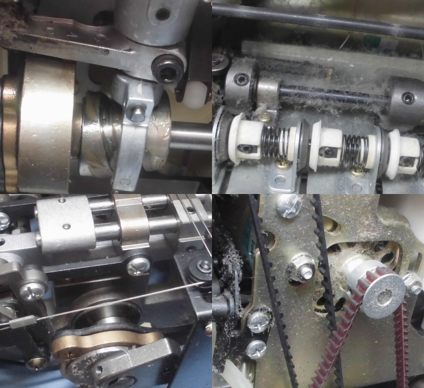 糸取物語BL66の故障や不具合|動かない、縫えない、はずみ車が回らない、糸が通らない