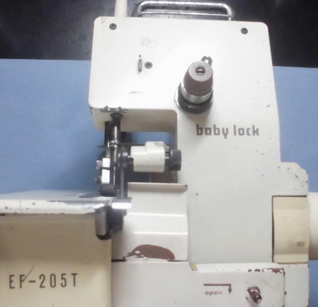 ベビーロックミシン修理|EF-205T|針が折れる、縫えない、固着、動かない