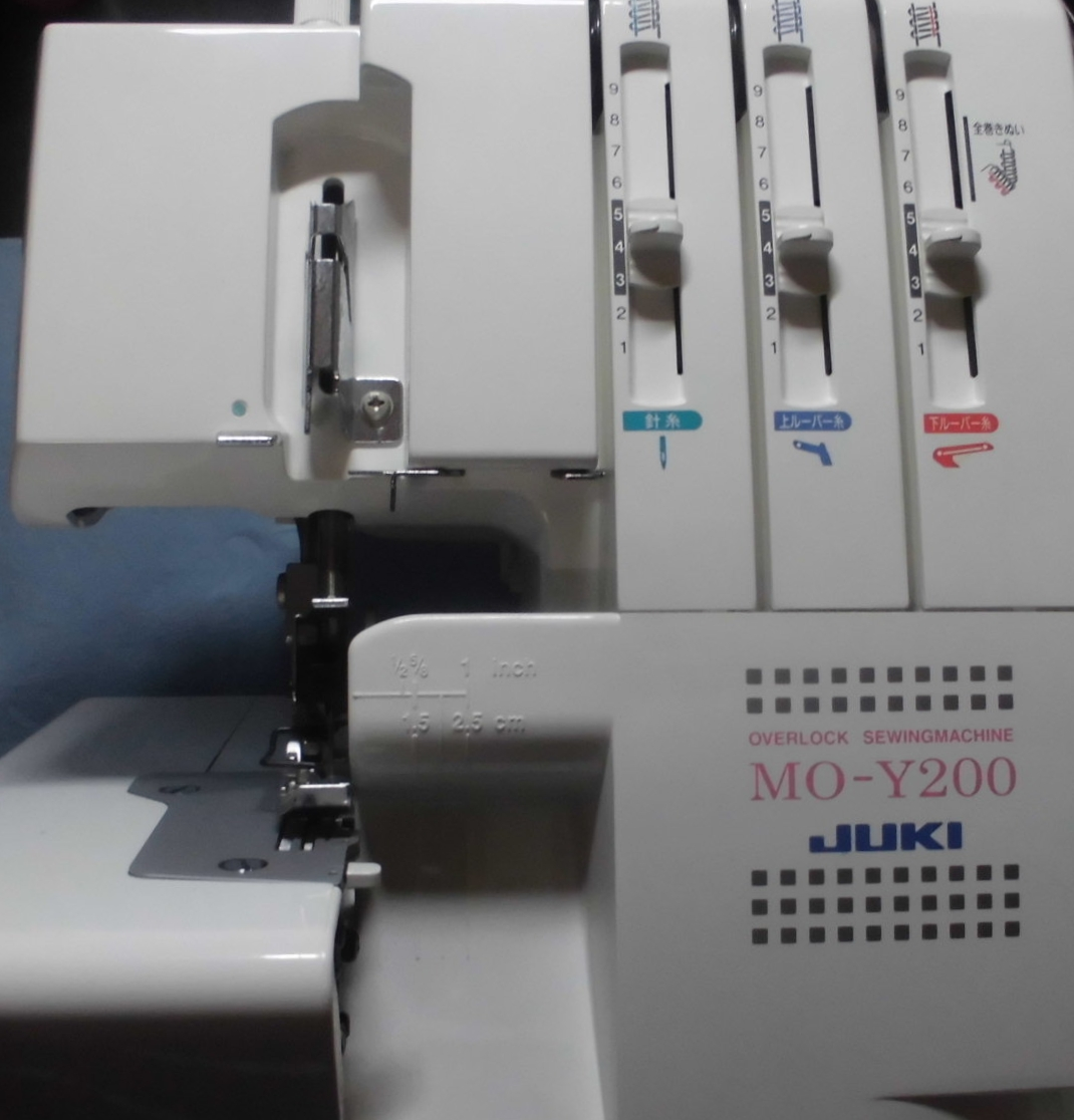 ジューキロックミシンの修理|MO-Y200|動かない、縫えない、モーター不良