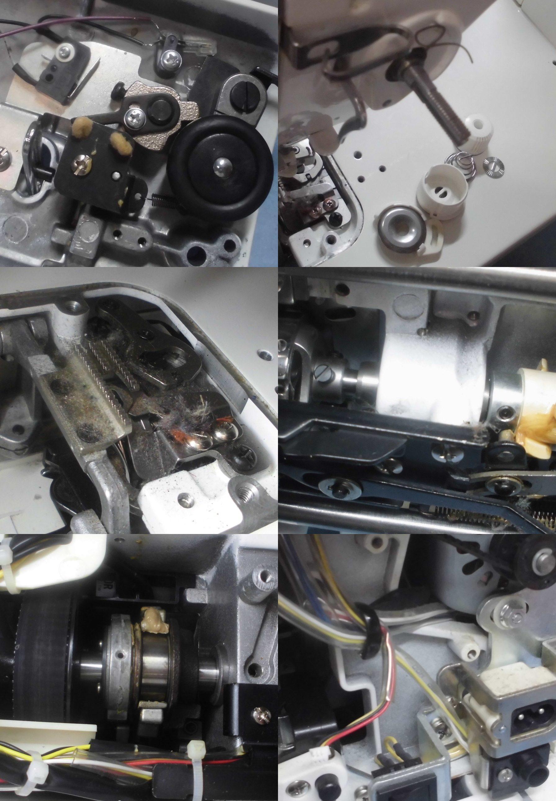 TL30DXBの全体オーバーホールメンテナンス修理|ジューキミシン(職業用)