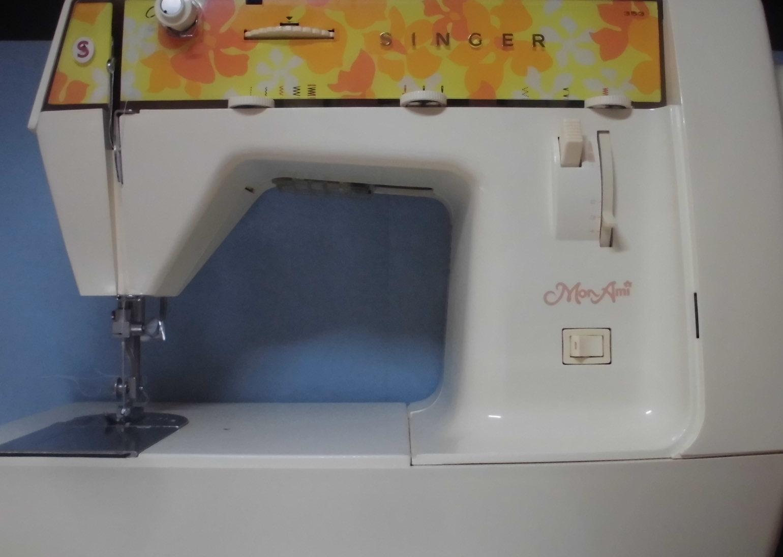 シンガーミシン修理|モナミ353|縫えない、動かない、釜ずれ(タイミング不良)