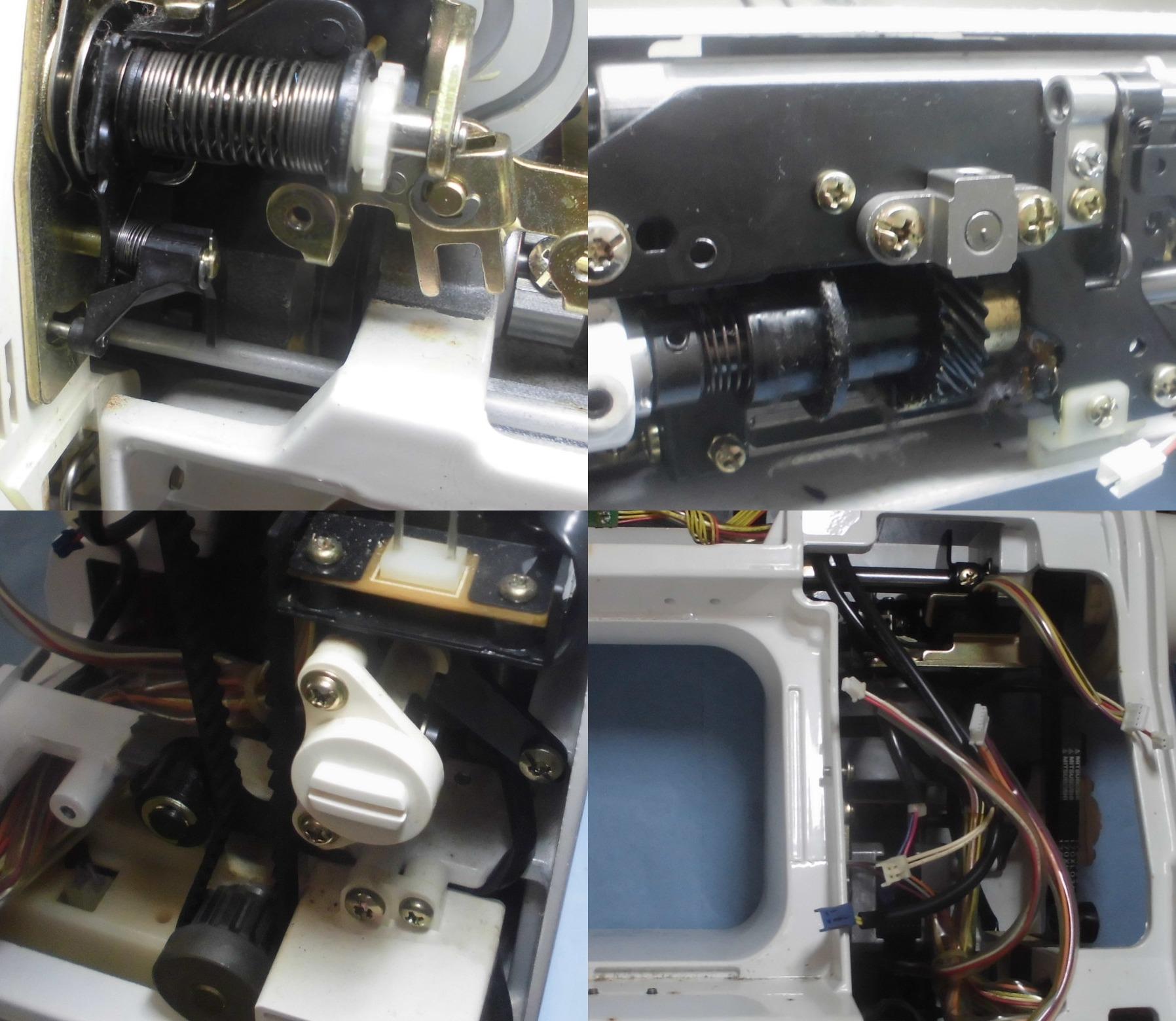 SECIO8210の全体メンテナンス修理|ジャノメミシン